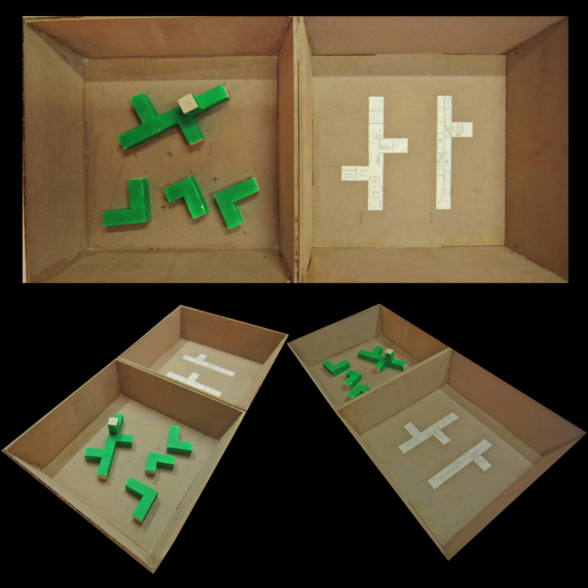 Pieza-Caja de Subarquitectura