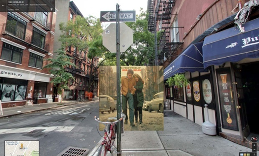 The Freewheelin' Bob Dylan / Bob Dylan. 1963 - Jones Street en est Village, Nueva York,. Image © The Guardian