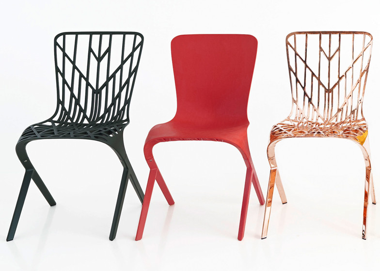 David Adjaye for Knoll: The Washington Skeleton and Skin
