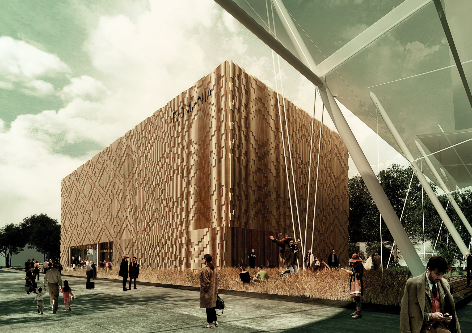 Competition Entry: Romanian Pavilion (Milan Expo 2015) / Collective East Architects, © Collective East Architects