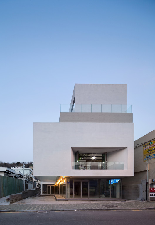 Maroin Office Building / Architects Group RAUM, © Yoon Joon-hwan