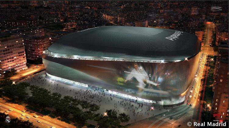 Estadios de fútbol, las catedrales de nuestro tiempo, © Real Madrid