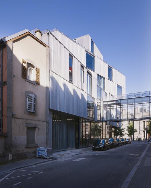 Escola de arquitetura de strasbourg marc mimram for J j school of architecture