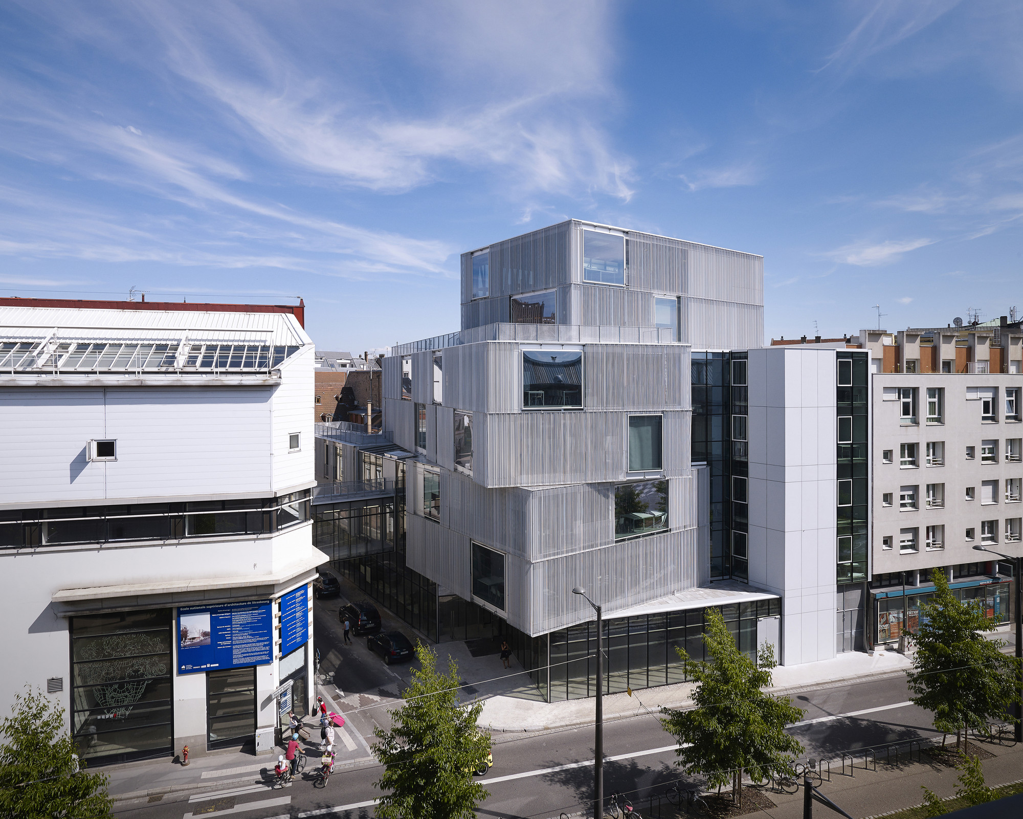 strasbourg school of architecture / marc mimram | archdaily