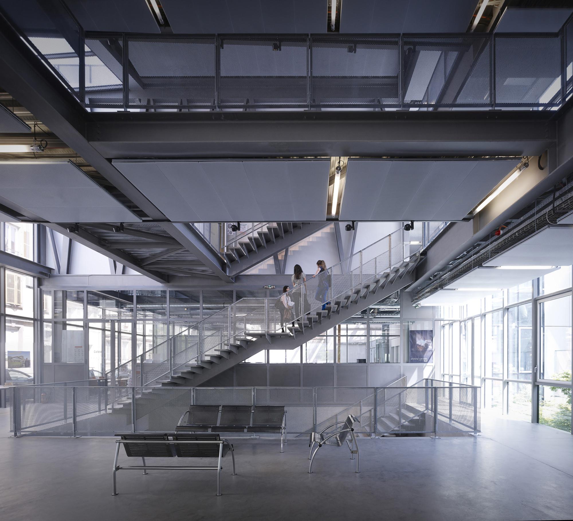 Galeria de escola de arquitetura de strasbourg marc for Strasbourg architecture
