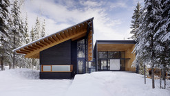 Kicking Horse Residence   / Bohlin Cywinski Jackson  + Association with Bohlin Grauman Miller Architects