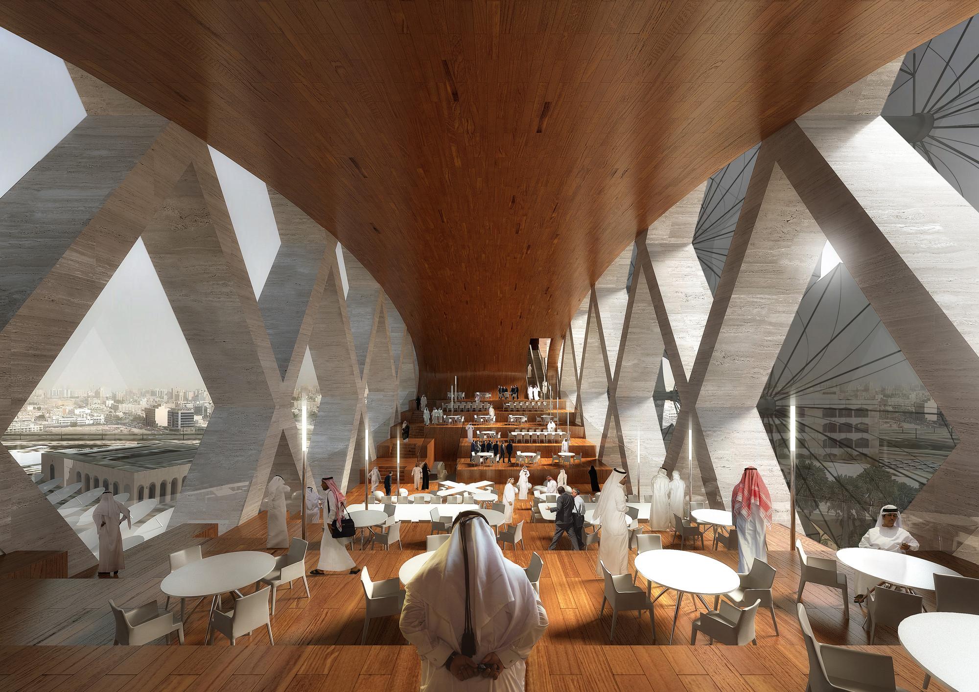 Cafetería. Imagen © Luxigon