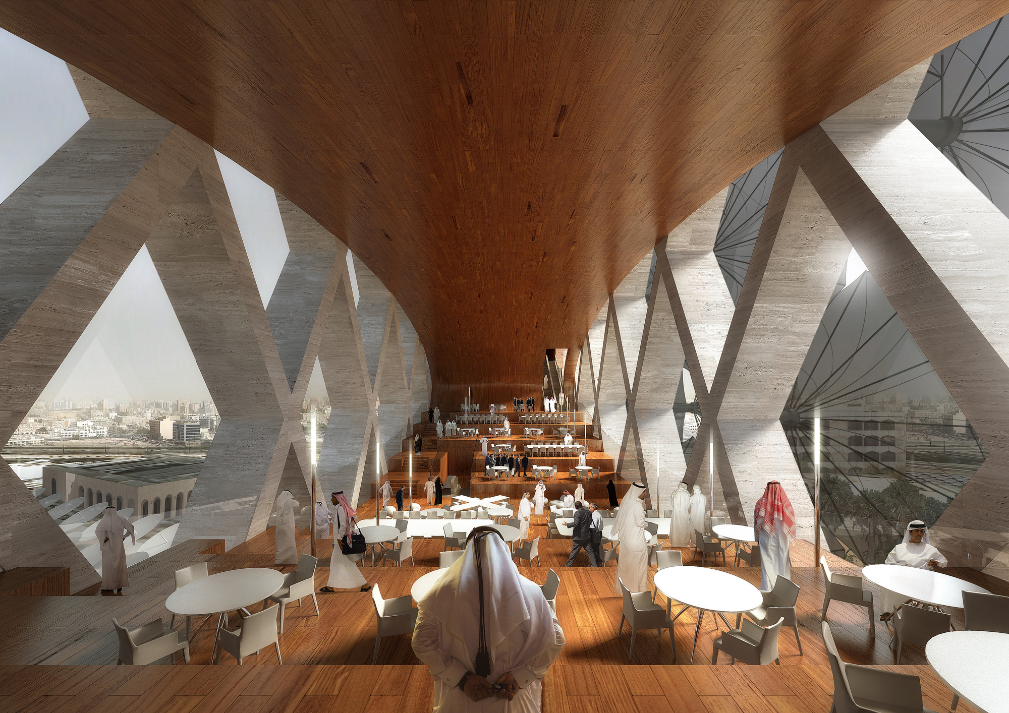 Cafeteria. Image © Luxigon