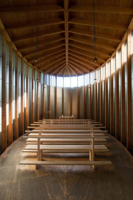 Saint Benedict Chapel / Peter Zumthor © Felipe Camus