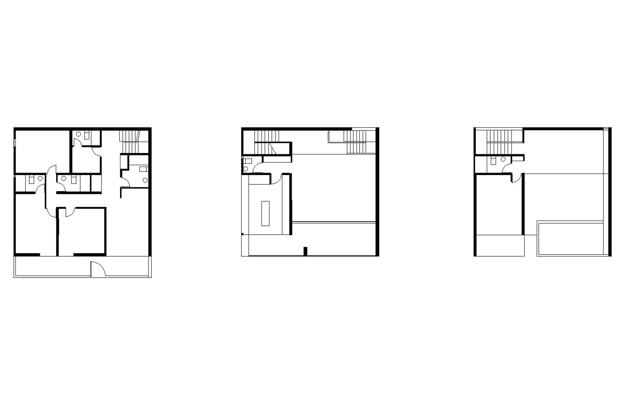Gallery of cube house nomena 1 Cube house plans