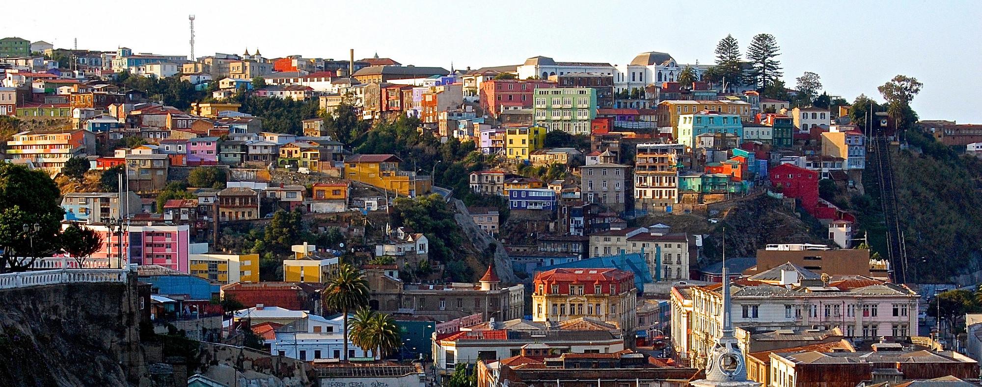 Valparaíso. Image © Domingo Mery