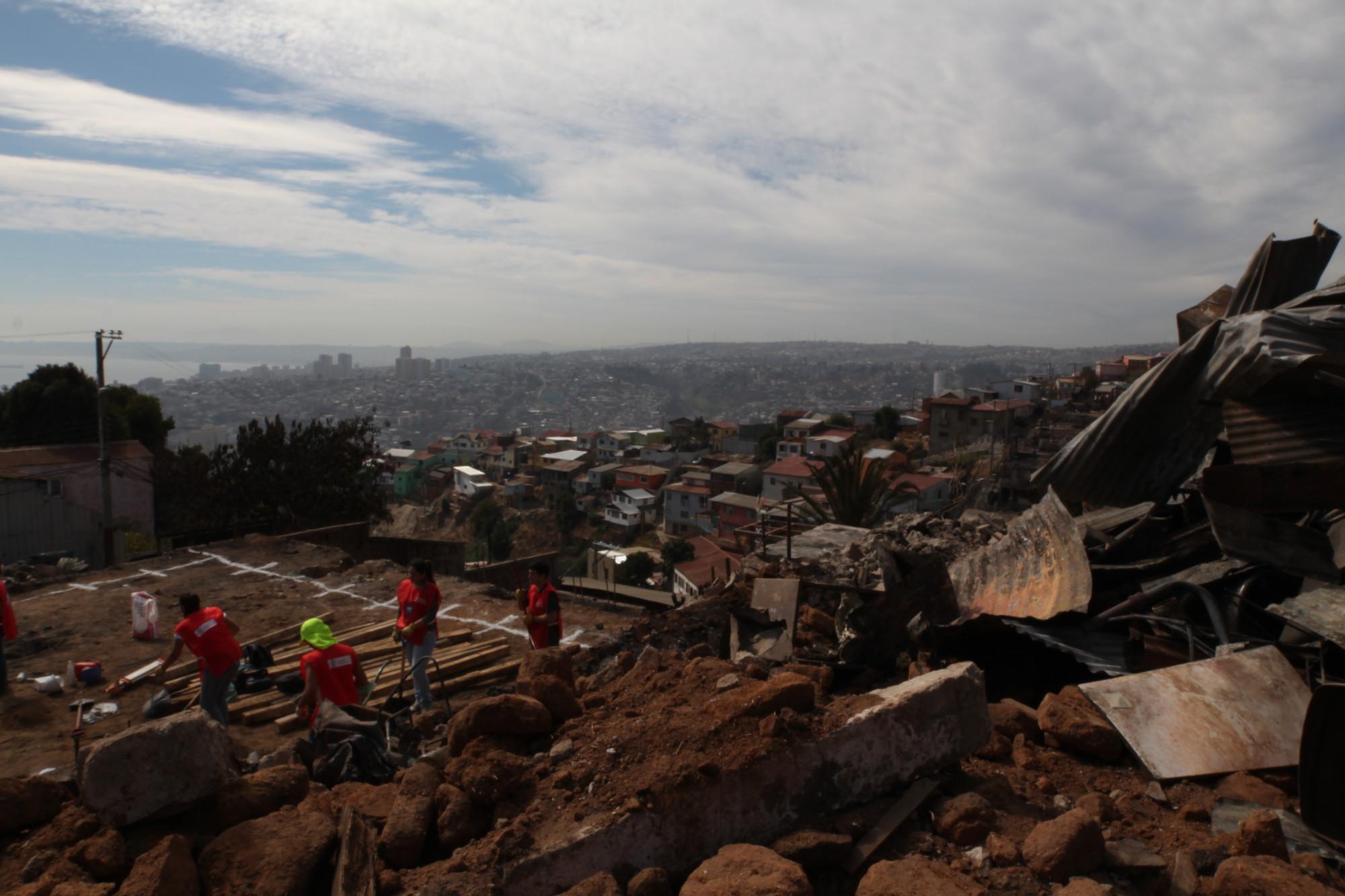 Cerro La Cruz, Valparaíso. Image Courtesy of Nicolás Valencia
