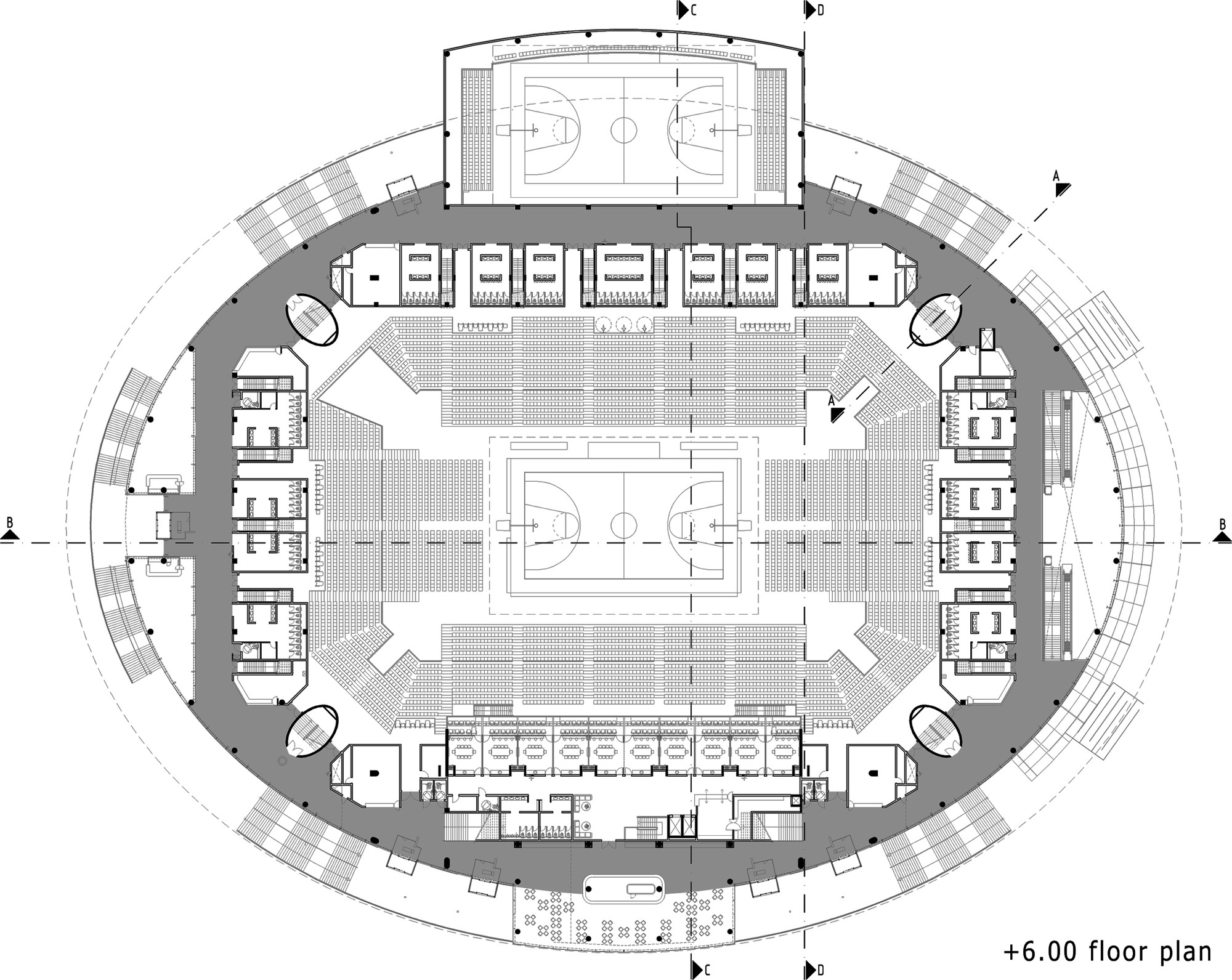 Gallery Of Ankara Arena Yazgan Design Architecture 19