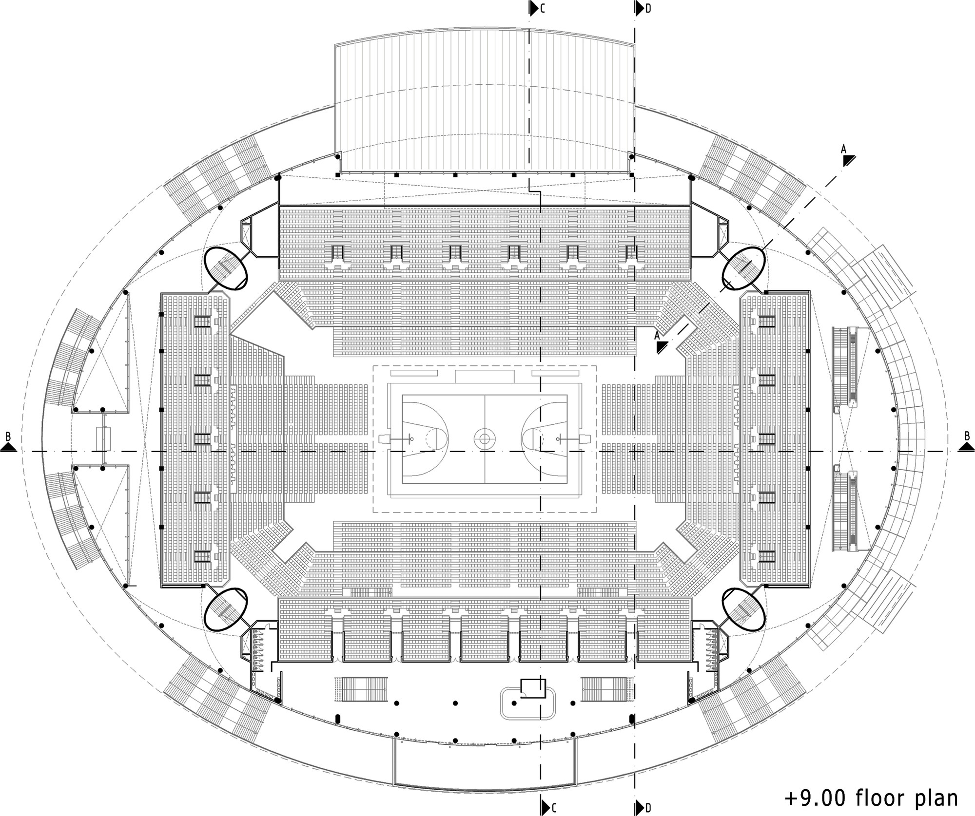 O2 Arena Floor Seating Plan Gallery Of Ankara Arena Yazgan Design Architecture 21