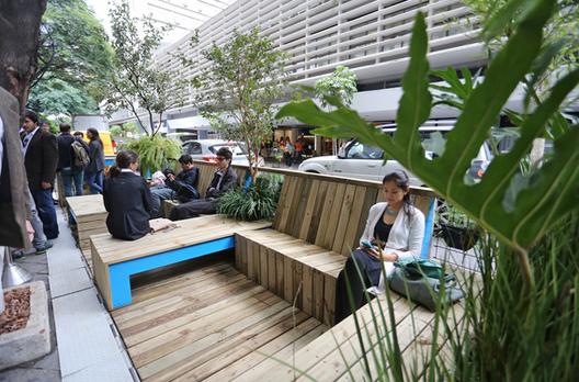 São Paulo regulamenta a criação de parklets para ampliar oferta de espaços públicos na cidade, © Fabio Arantes