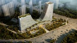Comienza la construcción de la Torre para las Oficinas Nanjing de UDG en China