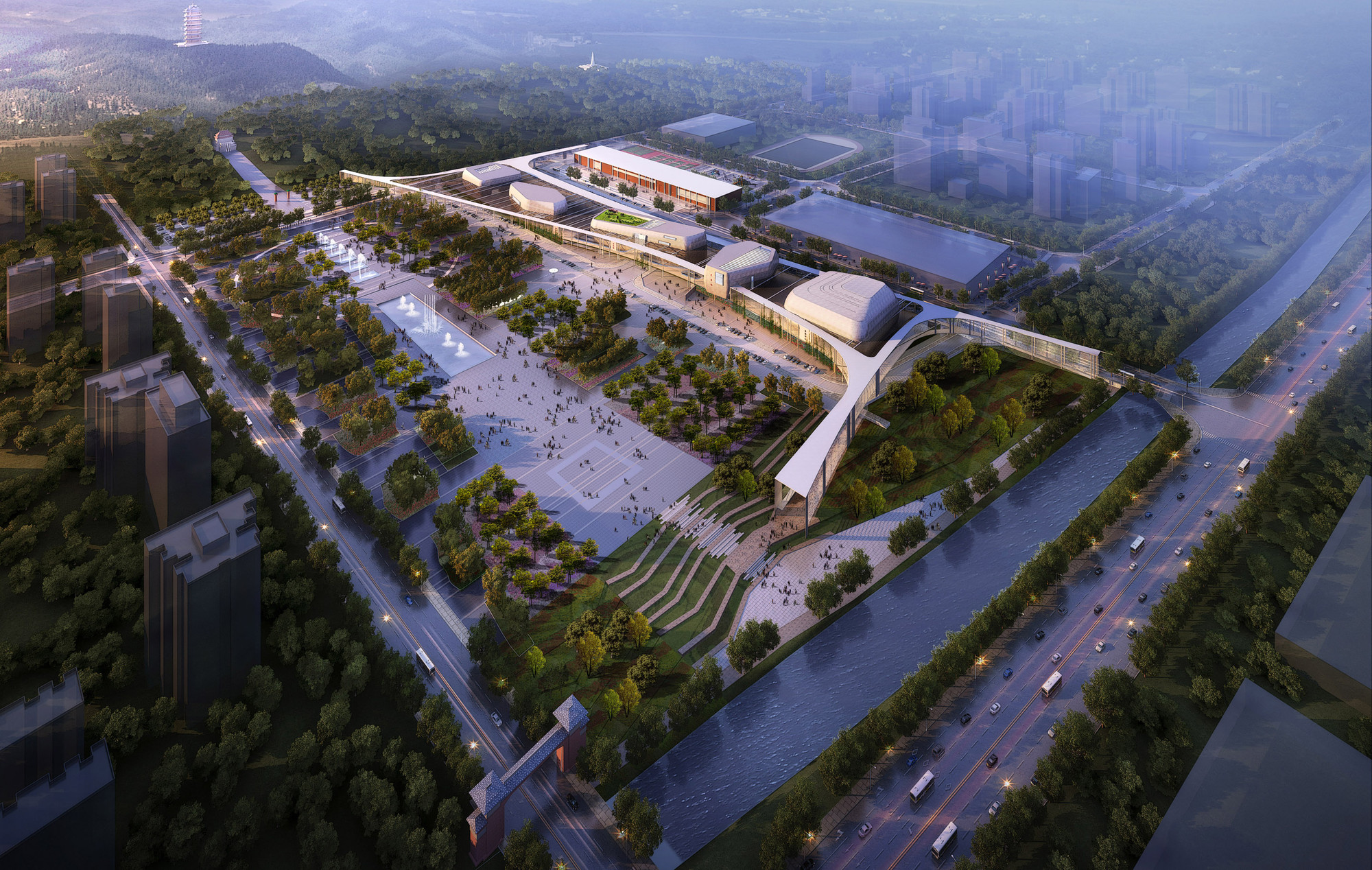 LITTLE Designs Locally-Inspired Cultural Campus for Anqiu, © LITTLE