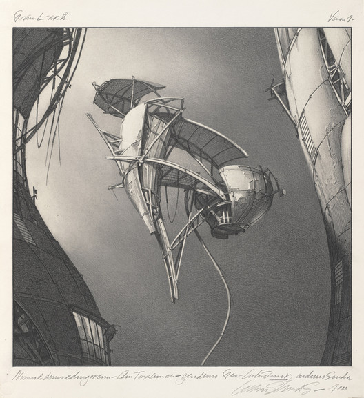 Photon Kite. Image Courtesy of Estate of Lebbeus Woods