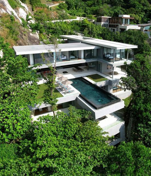 Villa Amanzi / Original Vision. Image © Helicam Asia Aerial Photography