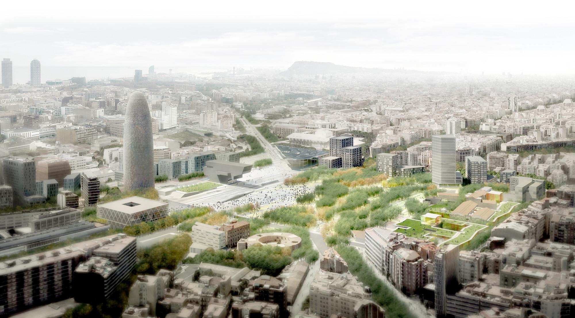 Vista general. Image Courtesy of UTE Fuses Viader + Perea + Mansilla + Desvign