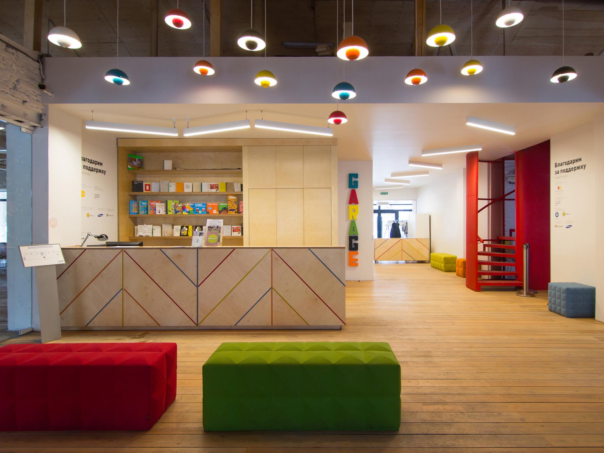 gallery of garage ccc education center form bureau 6. Black Bedroom Furniture Sets. Home Design Ideas