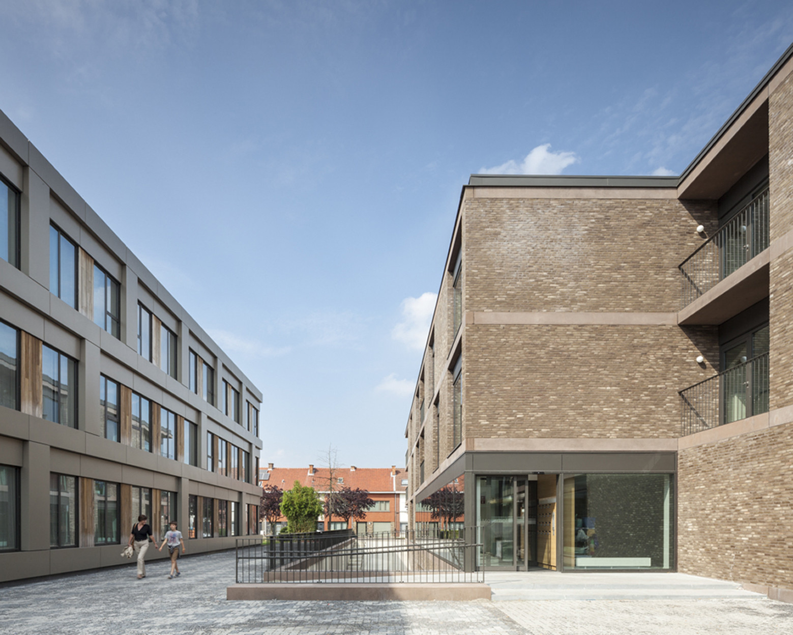 Gallery of elderly care campus areal architecten 1 Nursing home architecture
