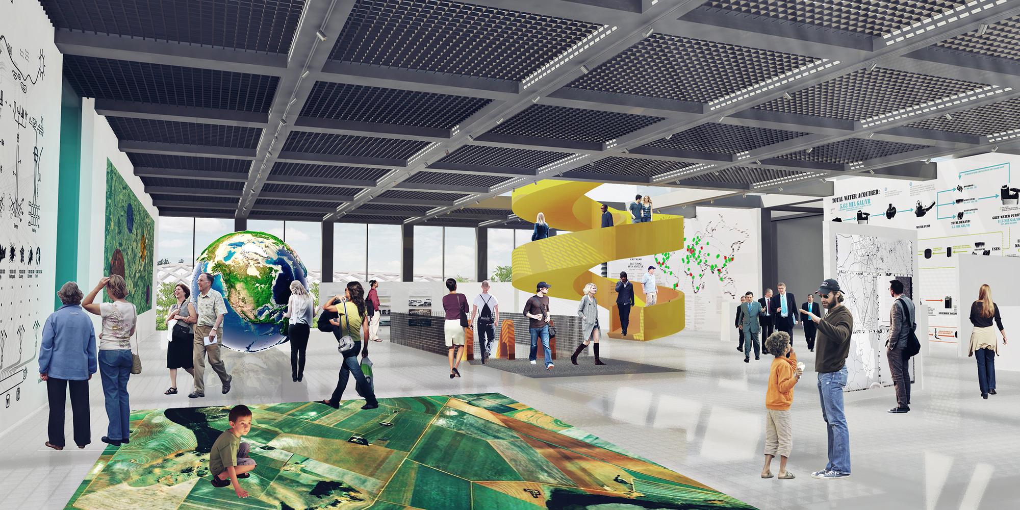 Área de entrada. Imagen Cortesía del Equipo de Proyecto