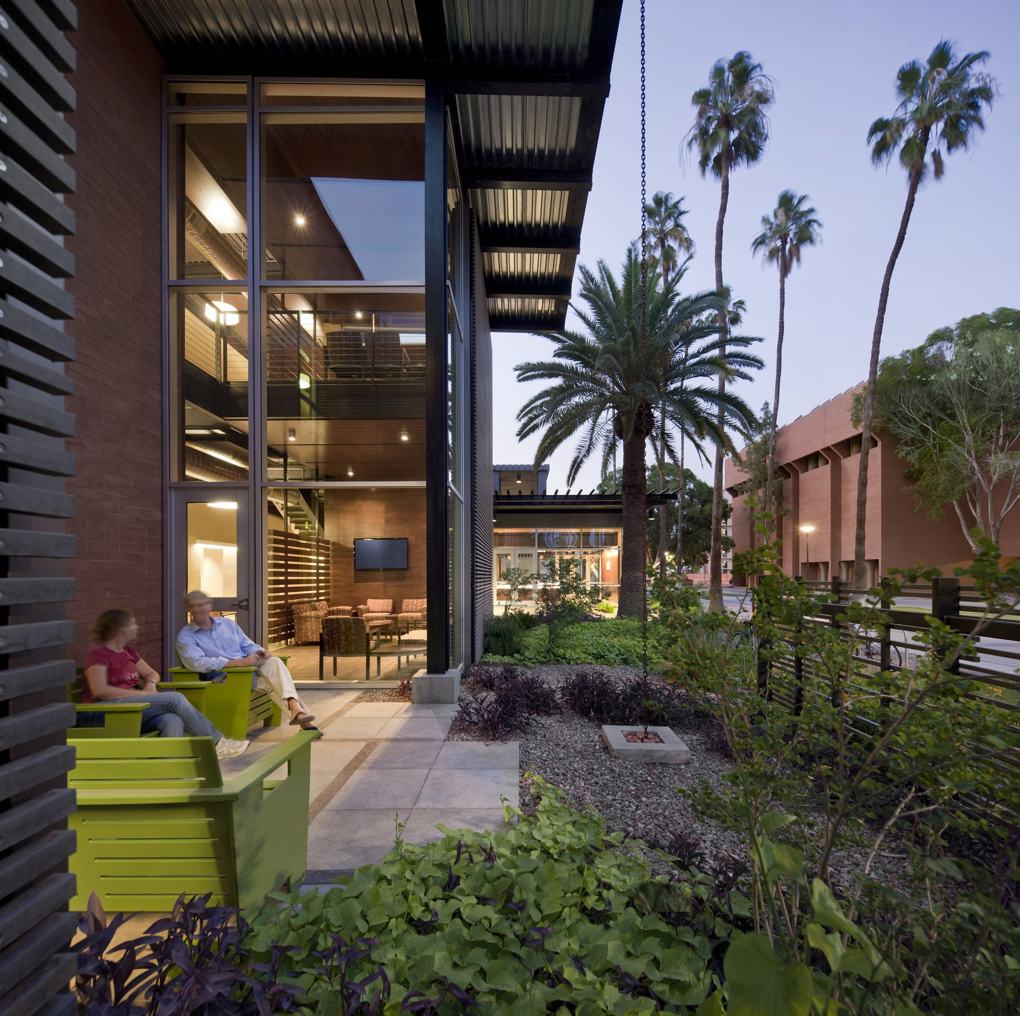 Arizona State University Student Health Services; Tempe, Arizona / Lake|Flato Architects + Orcutt|Winslow © Bill Timmerman