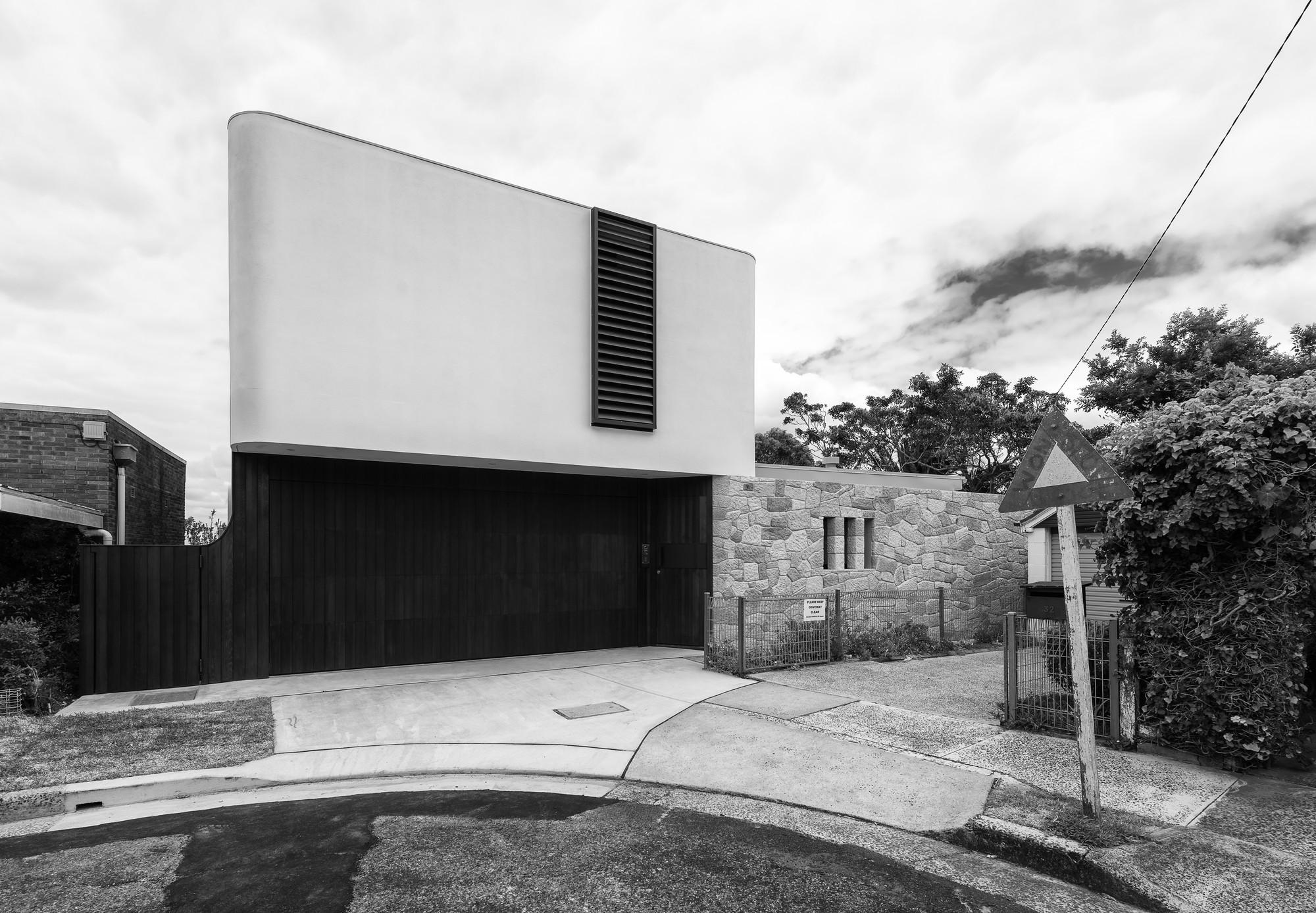 Cliff top house luigi roselli archdaily - Maison cliff top luigi rosselli architects ...