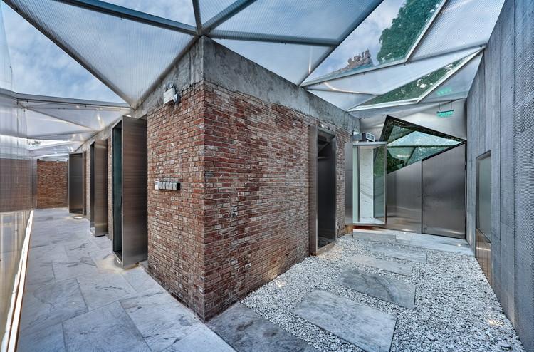 Casa del Té, en la muralla roja de la Ciudad Prohibida / CutscapeArchitecture, © Wang Yi
