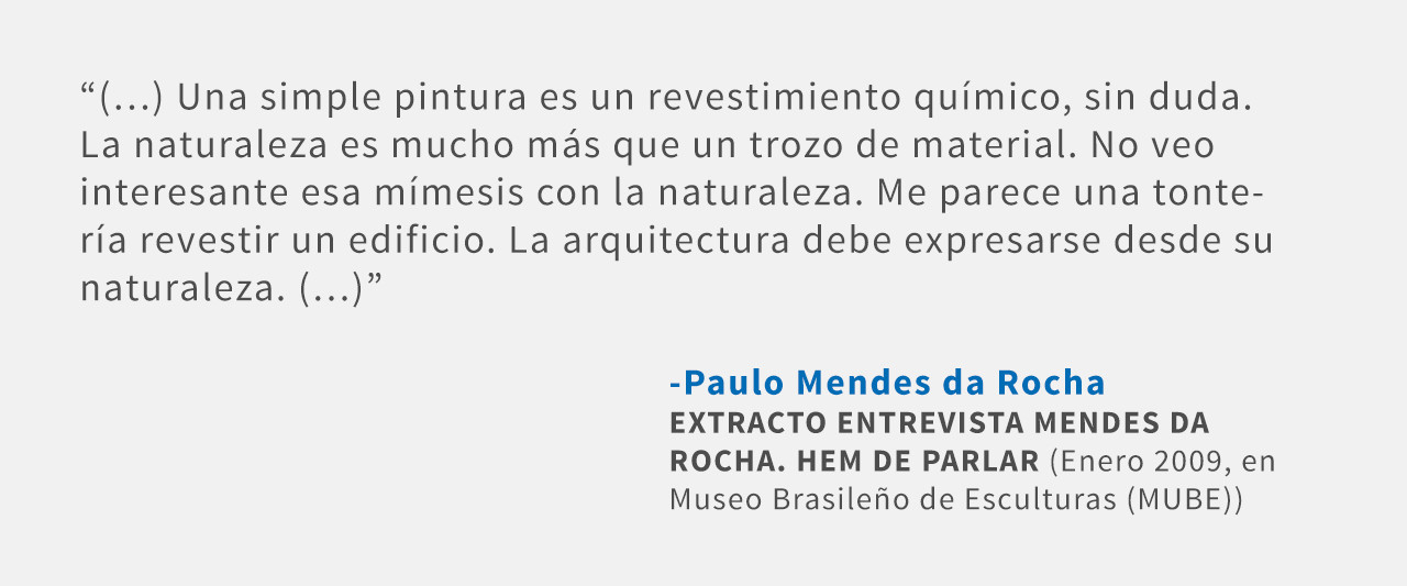 Frases: Paulo Mendes da Rocha