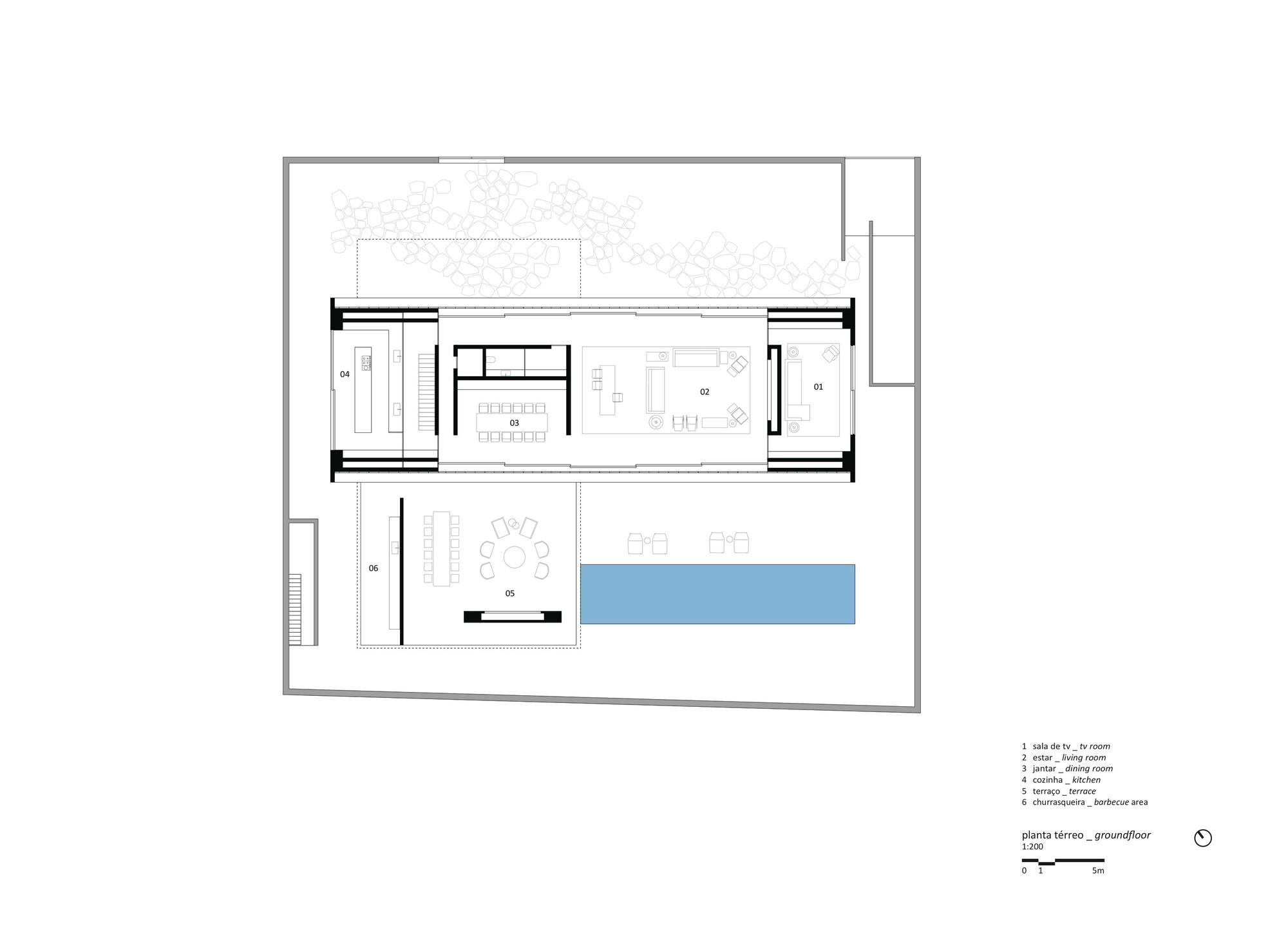 Gallery of the p house studio mk27 marcio kogan lair for Marcio kogan plans