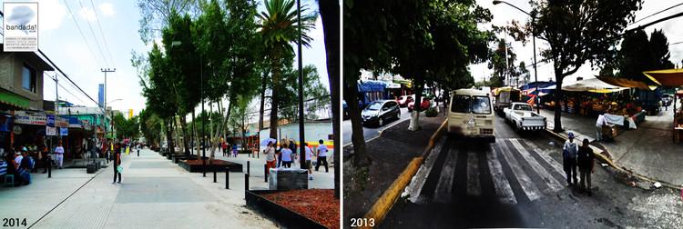 La transformación urbana del barrio San Miguel en Iztapalapa por el despacho mexicano bandada! studio, © bandada! studio
