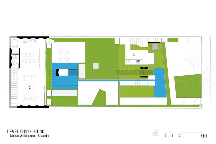 Floor Plan Level 0 / +1.40