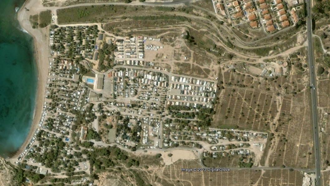 Villajoyosa, Alicante (2006). Image Cortesia de Nación Rotonda