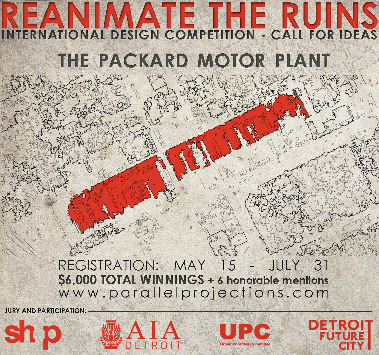 Reanimate the Ruins International Design Competition