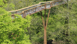 Kew Tree Top Walkway & Rhizotron  / Marks Barfield Architects