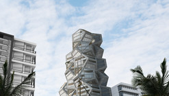 Tammo Prinz Architects Propose Platonian Tower in Lima