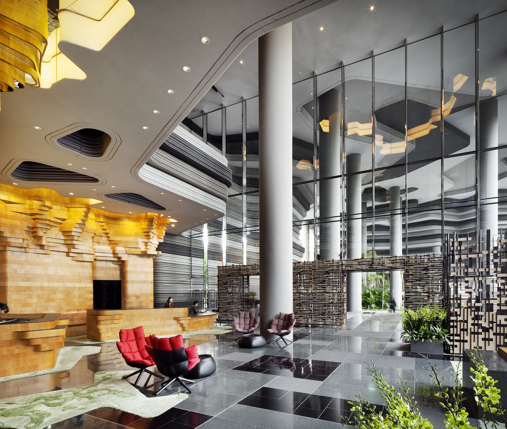 INSIDE Awards Now Open: Submit Your Projects!, PARKROYAL on Pickering by WOHA. Inside Festival Winner 2013 in the Hotel Category. Image © Patrick Bingham-Hall