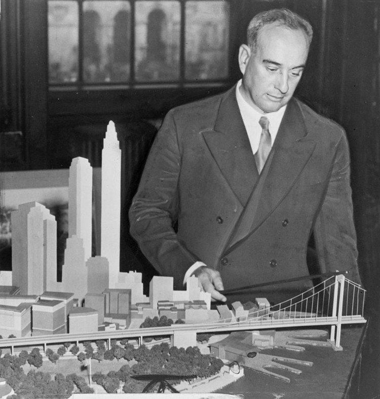 The Fifth Pillar: A Case for Hip-Hop Architecture, Robert Moses - the father of Hip-Hop?. Image Courtesy of Wikimedia User AaronSw