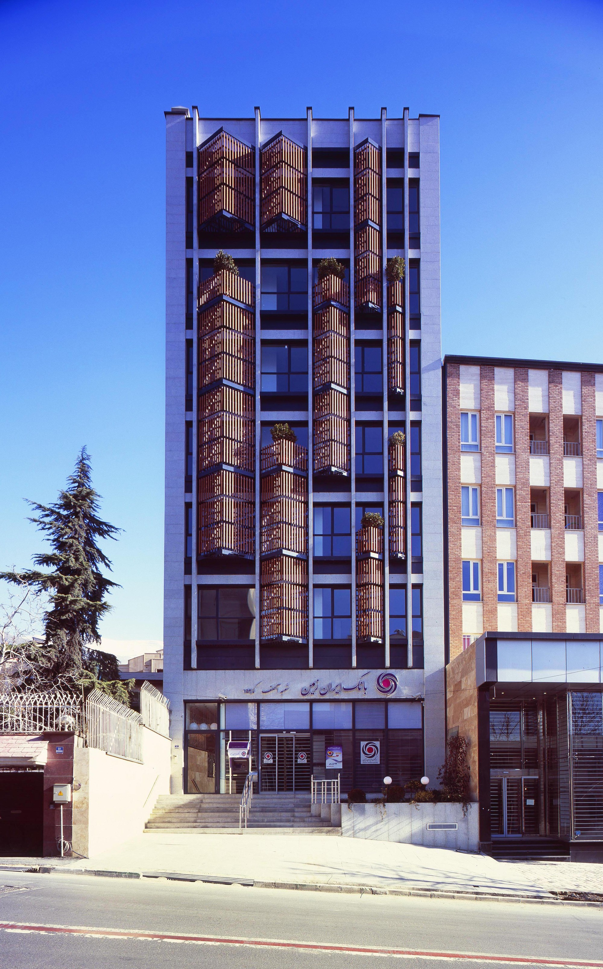 Asef office building boozhgan studio archdaily for Office building design architecture