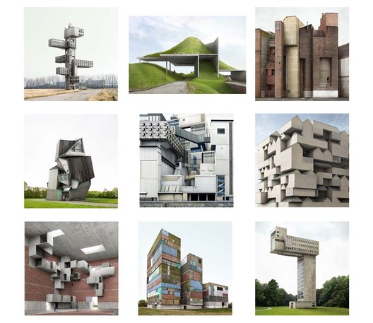 Filip Dujardin's 'Fictions' - a series of photographic plates of fictional architectural spaces. Image Courtesy of Highlight Gallery