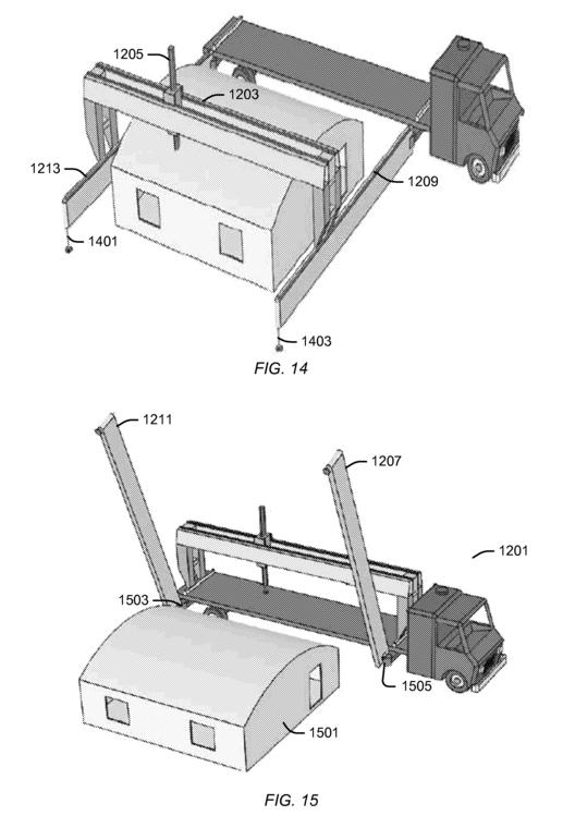 Sistema de transporte del pórtico móvil