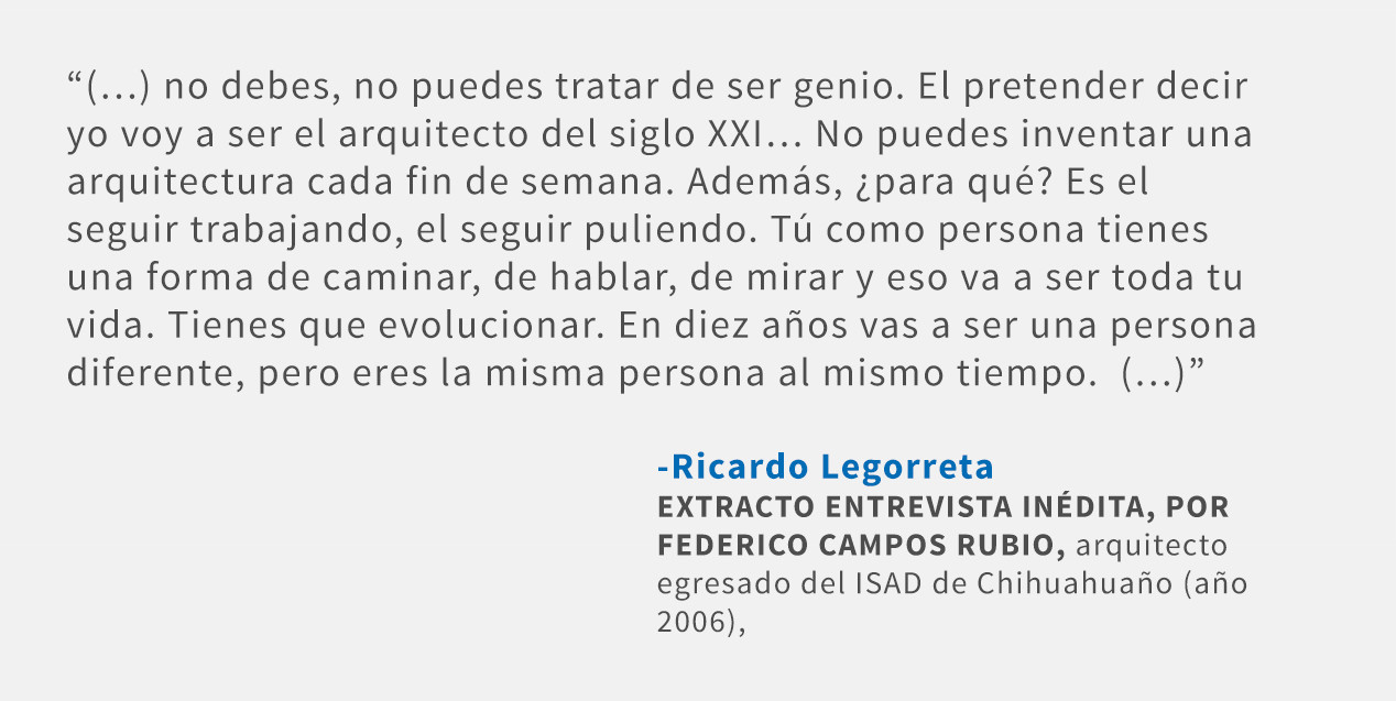 Frases: Ricardo Legorreta