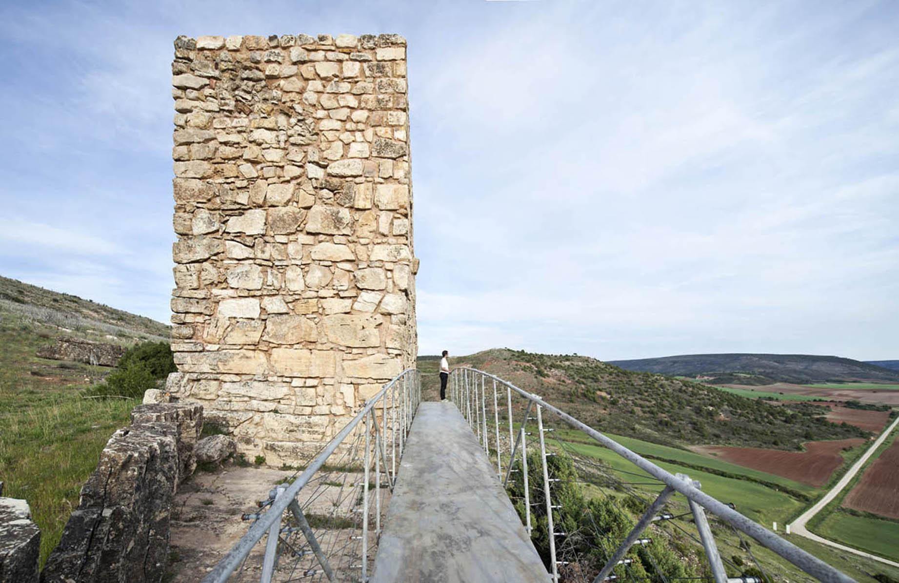 Restoration of Arab Tower in Riba de Saelices / Ignacio Vila Almazán + Alejandro Vírseda Aizpún + José Ignacio Carnicero, © Montse Zamorano