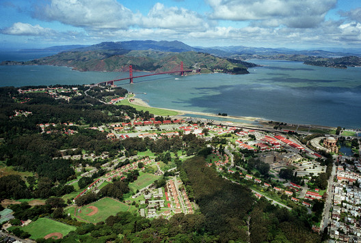 Presidio From Southeast. Image © Robert Campbell