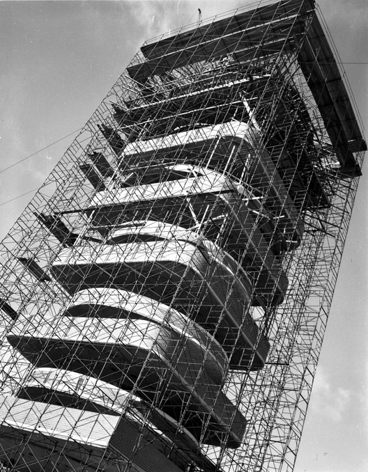 Vista de la Torre en Construcción. Image © SC Johnson