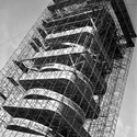 View of tower during construction. Image © SC Johnson
