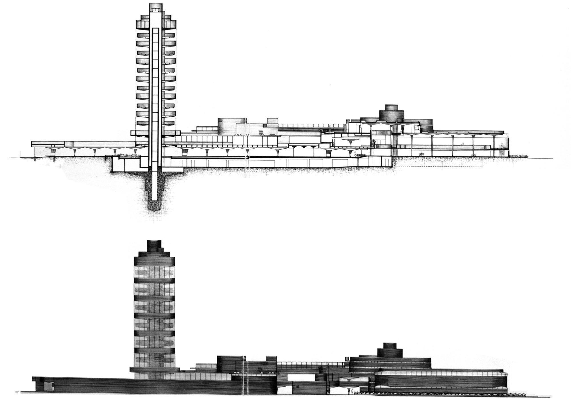 Create Floor Plans Ad Classics Sc Johnson Wax Research Tower Frank Lloyd