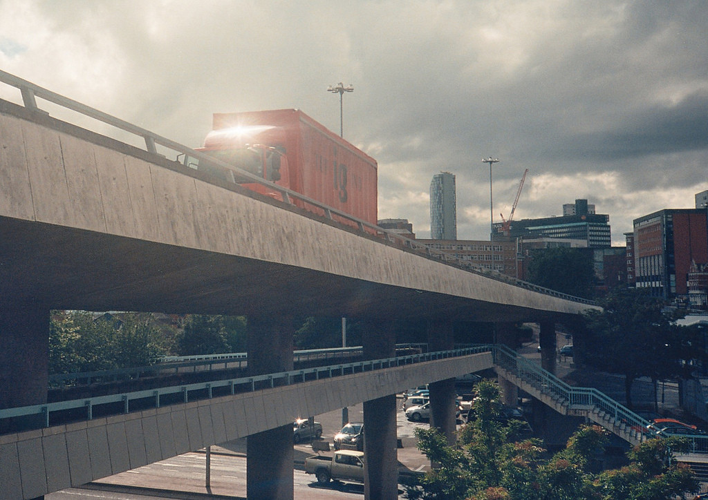 The Churchill Flyover in Liverpool. Image © Flickr CC User Arthur John Picton
